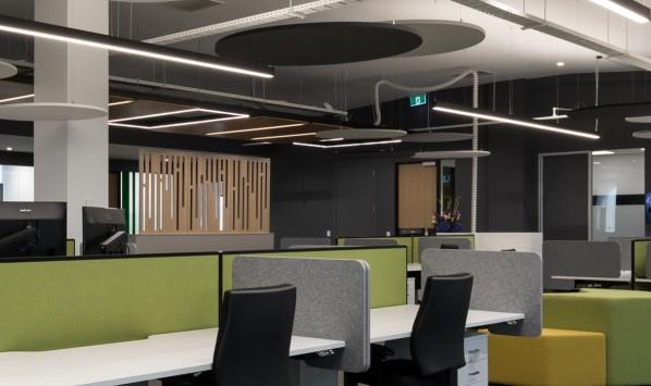 Cove Desk Dividers INO Interiors Canberra