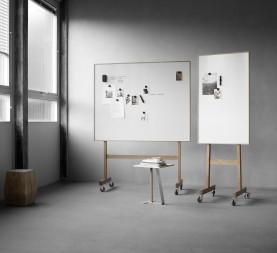 Wood Mobile White Board